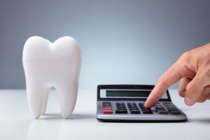 Tooth and calculator